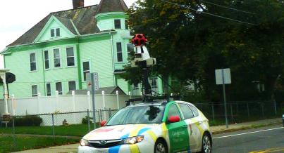 Caught on Google's cam?